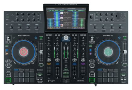 "Denon Prime 4 standalone DJ controller with 10"" Touch Screen"