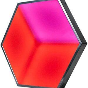 adj 3d hexagonal led