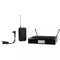 Shure BLX14R/B98 Wireless Horn System with Rackmountable Receiver and WB98H/C Band H9