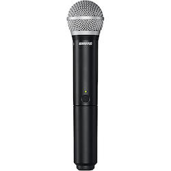 Shure BLX2/PG58 Handheld Wireless Transmitter with PG58 Capsule Band H9
