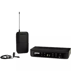 Shure BLX14 Lavalier System with CVL Lavalier Microphone Band H9