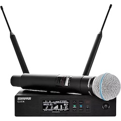 Shure QLX-D Digital Wireless System with Beta 58 Microphone Band G50