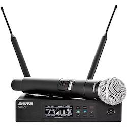 Shure QLX-D Digital Wireless System with SM58 Dynamic Microphone Band J50A