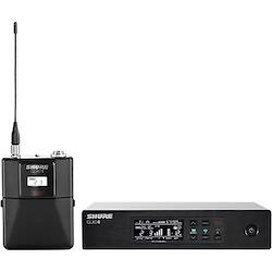 Shure QLXD4 Half-Rack Digital Wireless Receiver Band J50A