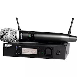 Shure GLXD24R/SM86 Advanced Wireless System with SM86 Microphone Band 1 Black