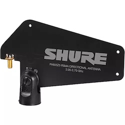 Shure PA805-RSMA Passive Directional Wireless Antenna for GLX-D Advanced Digital Wireless Systems Band 1 Black