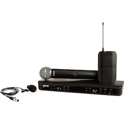Shure BLX1288/W85 Wireless Combo System with SM58 Handheld and WL185 Lavalier Band H11