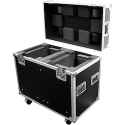 ProX XS-MH250X2W ATA Road Case with Wheels for Moving-Head Lights Black