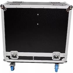 "ProX XS-2X12SPW Universal 2 Speakers ATA Flight Case for 12"" Loudspeakers"